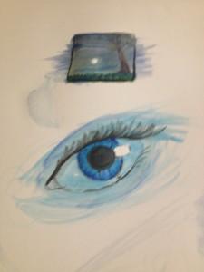 eye Copyright 2015 Leah Jones