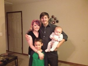 Eden, Craig, their baby Piper & Eden's son Jacob